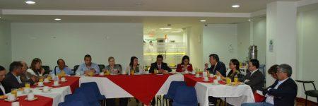 Viceministra de Protección Social, Carmen Eugenia Dávila visita el Hospital Universitario Departamental de Nariño